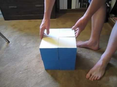 Giant Paper 2x2 Rubik's Cube