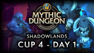 MDI Shadowlands Cup 4 | Day 1 Full VOD