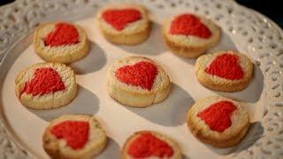 Рецепт недели: печенье с сердцем