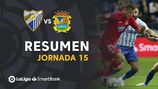 Resumen de Málaga CF vs CF Fuenlabrada (0-0)