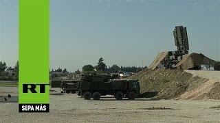 El sistema antiaéreo S-400, preparado para defender el operativo ruso contra el EI