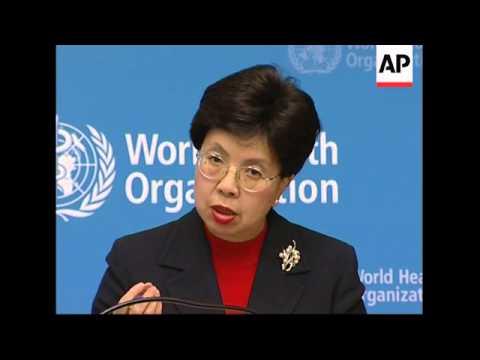 New WHO Director-General Dr Margaret Chan begins work