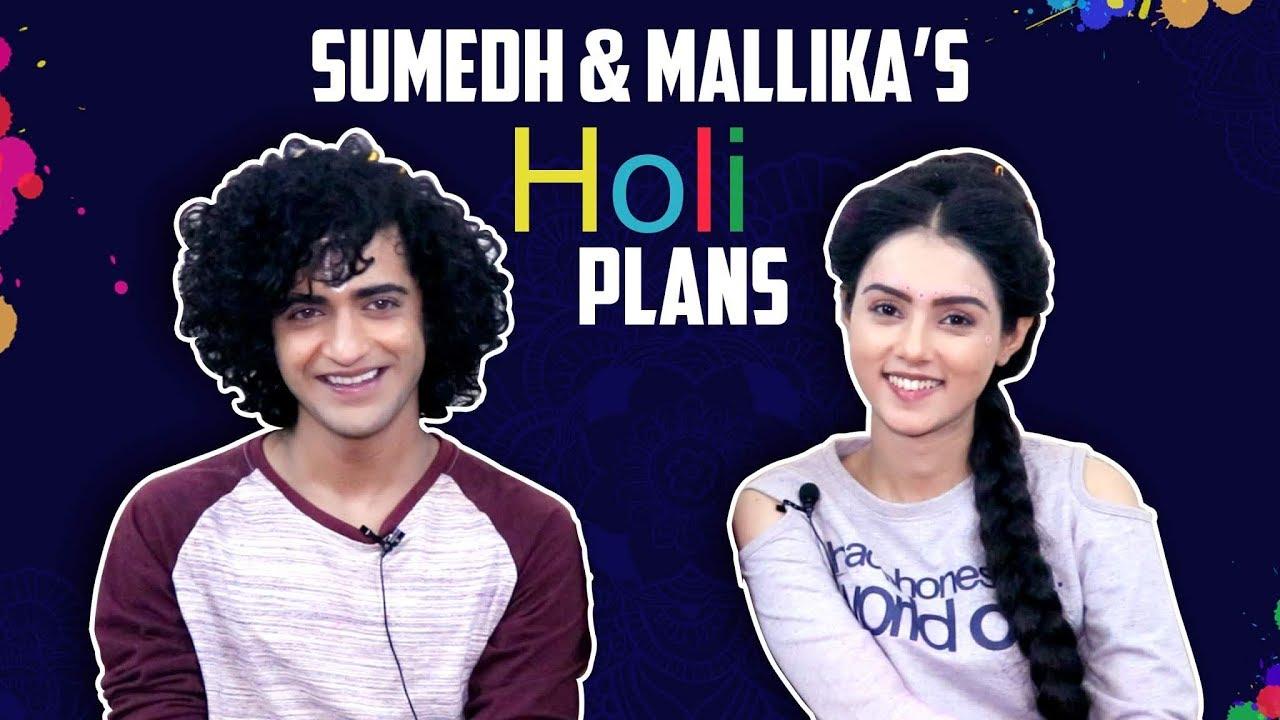 Sumedh Mudgalkar And Mallika Singh Share Their Holi Plans | Radha Krishn
