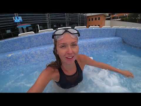 Бассейн с морской водой в Сочи   Отдых 2018, лучший отель с бассейном на берегу моря ОК Дагомыс