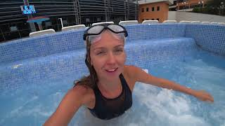 Бассейн с морской водой в Сочи | Отдых 2018, лучший отель с бассейном на берегу моря ОК Дагомыс