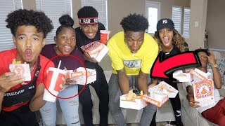 JQCG POPEYES MUKBANG ( OUR FIRST FIGHT) PART 1 | IAMJUSTAIRI