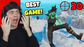 this is my BEST GAME i've ever had on fortnite... (so good) RANDUMB...