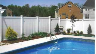 Vinyl And Ornamental Aluminum Fence