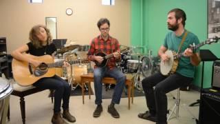"A-Sides Acoustic Session: Mandolin Orange ""Hey Stranger"" (11.2.16)"