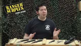 Ranger Surplus Tip #72: Picking a Knife Ep1 | Army Surplus Rockville Frederick Tysons Corner
