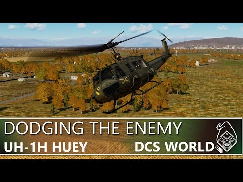 DCS: UH-1H HUEY DODGING THE ENEMY