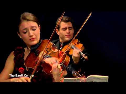 BISQC 2013 - Dover Quartet - Johannes Brahms Quartet in A minor