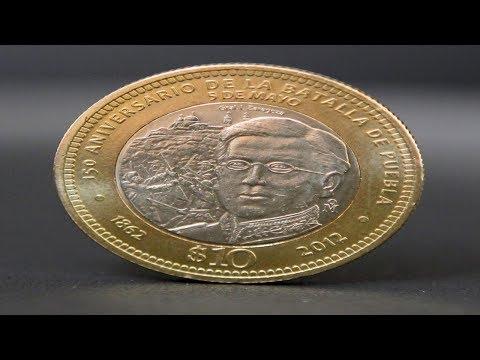 Moneda de 10 pesos Ignacio Zaragoza