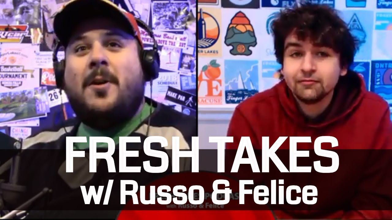 NFL Wildcard round, College football title game as 2019 arrives .::. Fresh Takes w/ Russo & Felice 1/1/19