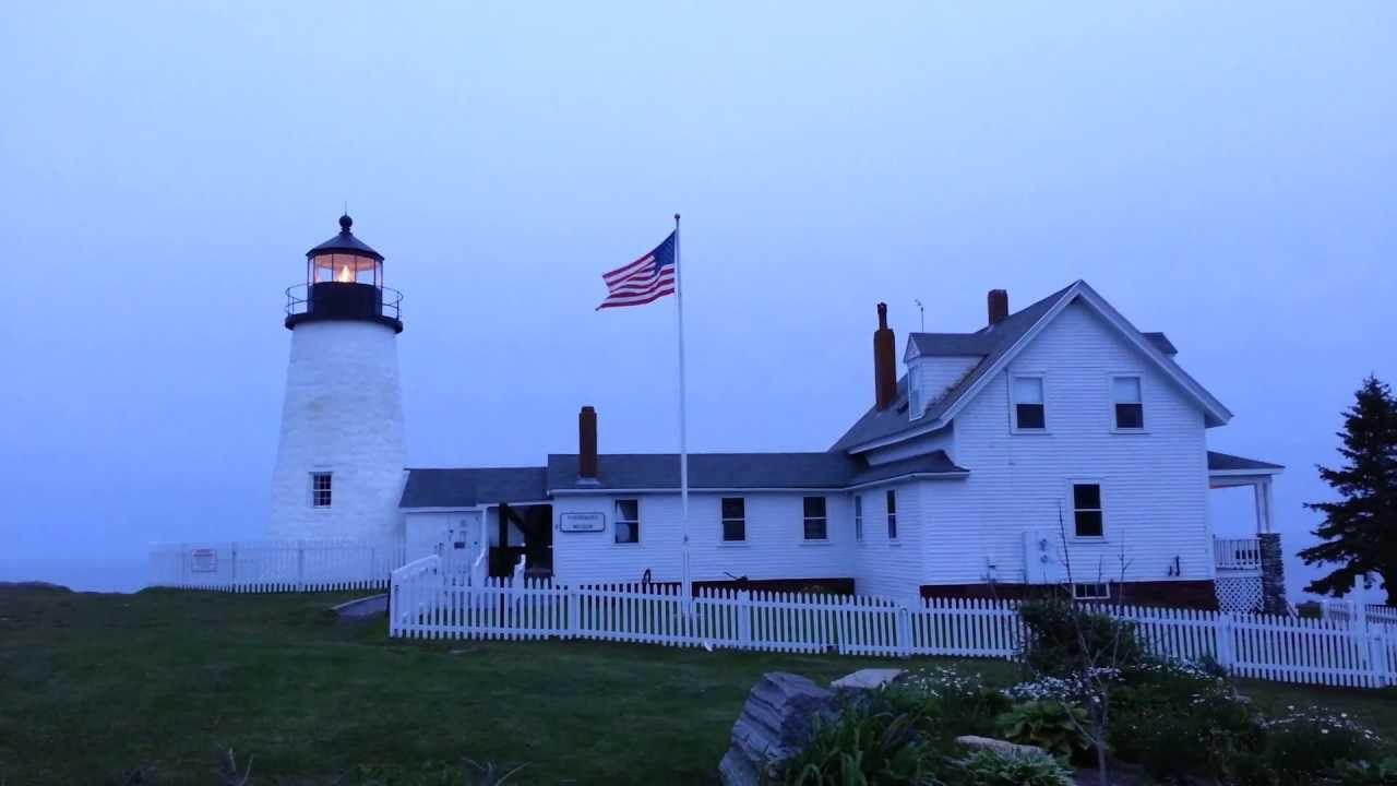 Pemaquid Point Lighthouse. New Harbor, Maine USA