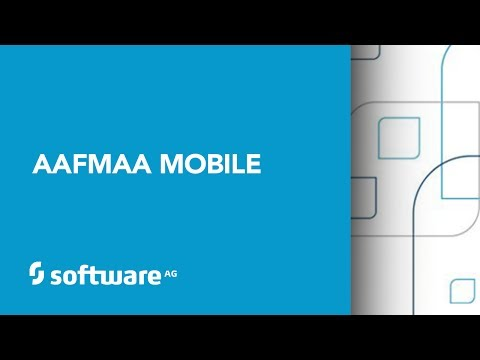 AAFMAA's Mobile Enablement Leveraging Software AG Technologies