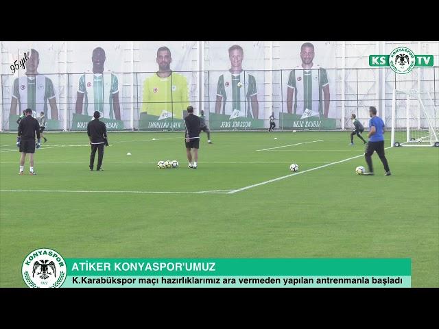 Takımımızda K.Karabükspor maçı hazırlıkları başladı