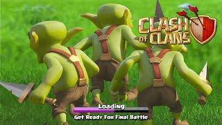 Final Battle - Dragon's Lair Last Goblin Map - Clash of Clans - COC