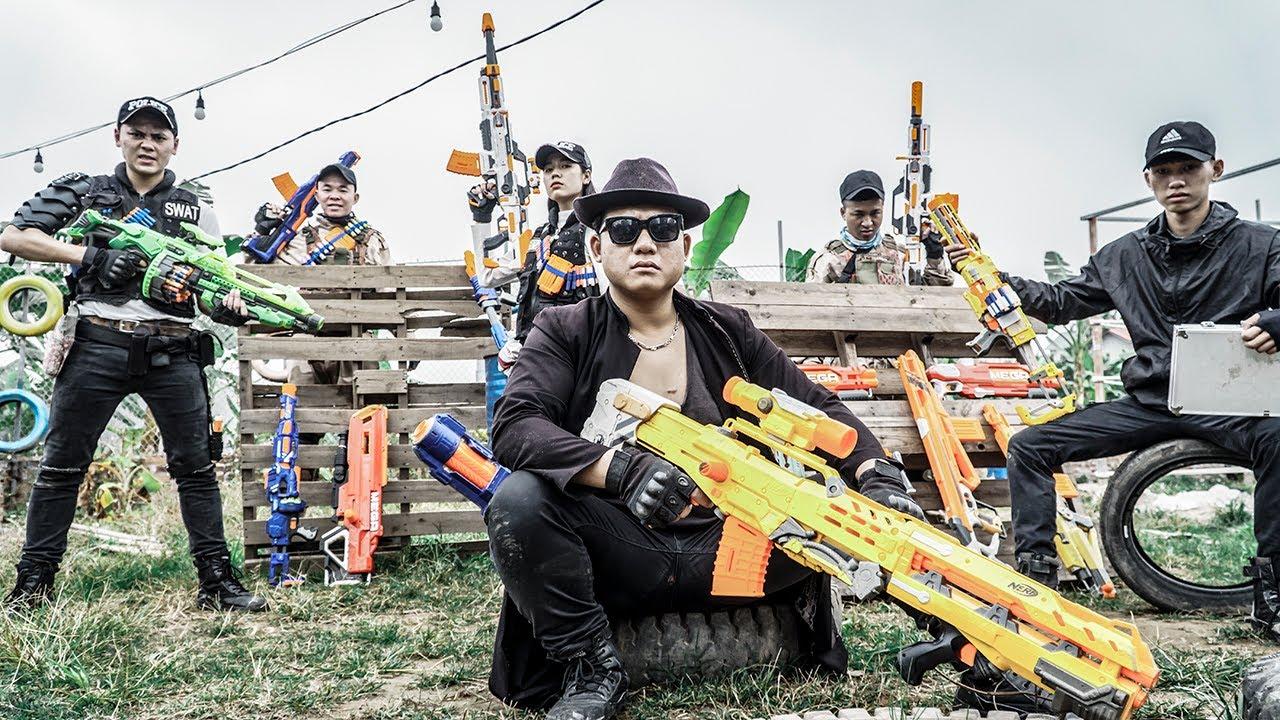 LTT Nerf War : Suicide Squad SEAL X Warriors Nerf Guns Fight Capture The Base Dr Ken Crazy