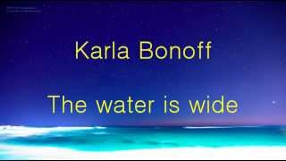 Karla Bonoff - The water is wide lyrics 가사 한글 해석