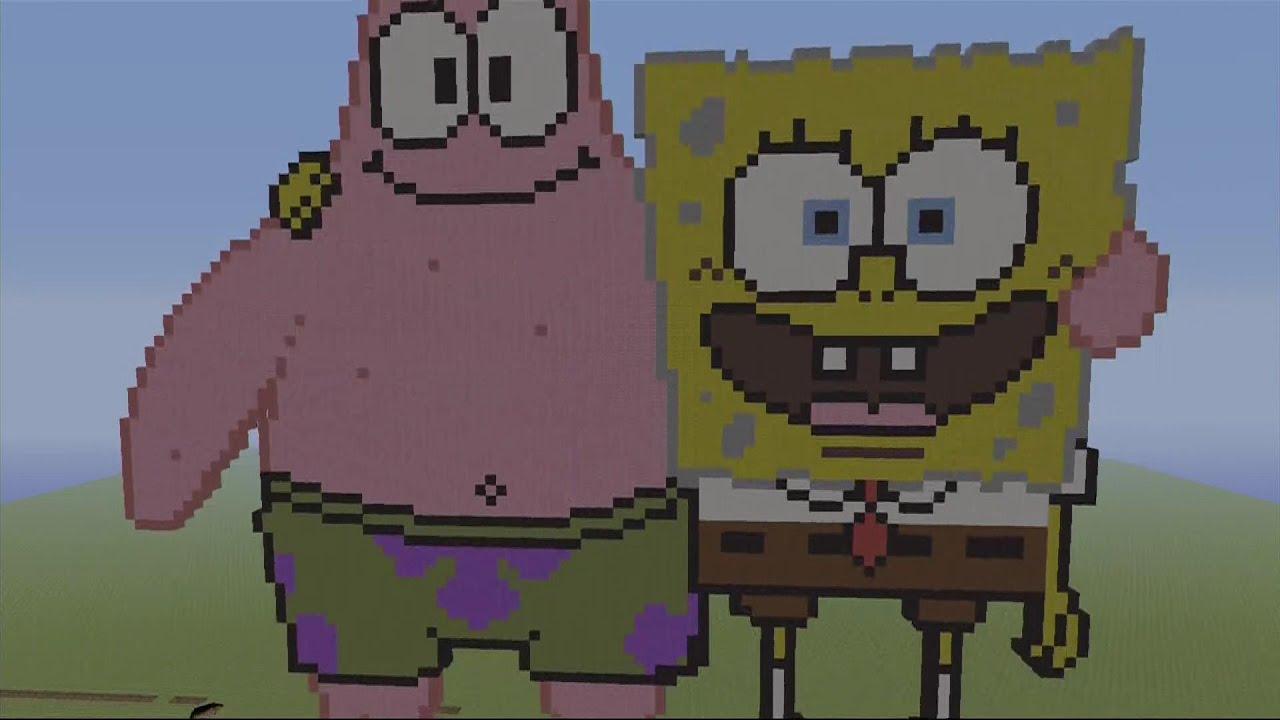 100 Minecraft Pixel Art Builds