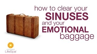 How to Clear Your Sinuses & Emotional Baggage   John Douillard s LifeSpa
