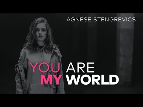 Agnese Stengrevics-You Are My World (Lyric Video) Supernova Latvia 2018 (Eurovision)
