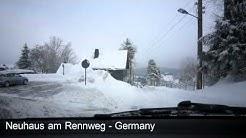 Winter 2010 Neuhaus am Rennweg - Schmalenbuche / Germany