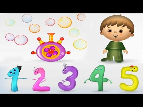 Numbers Counting to 10 Collection Vol. 1 - Kids Learn to Count, Baby Toddler Songs, Nursery Rhymes