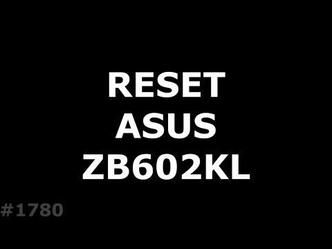 Hard Reset ASUS ZB602KL ZenFone Max Pro M1