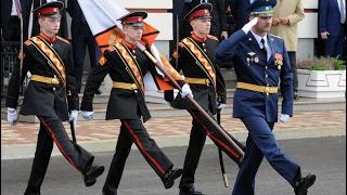Как готовят будущих офицеров: один день в Суворовском военном училище (ВИДЕО 360)