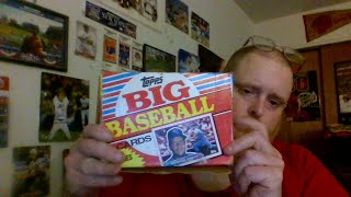 Tank's Pack Opening Live Topps Big Baseball  Cards 1988