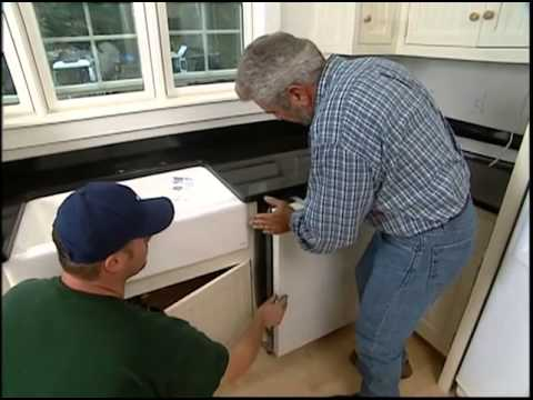 Installing the Dishwasher, Sink, and Garbage Disposal