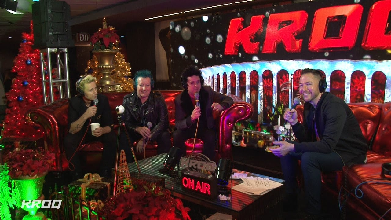 stryker interviews green day at kroq almost acoustic christmas 2016 - Kroq Christmas