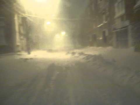 2013 Blizzard, Olneyville, Providence.