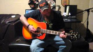 Cody Newby on the Epiphone Hummingbird Pro