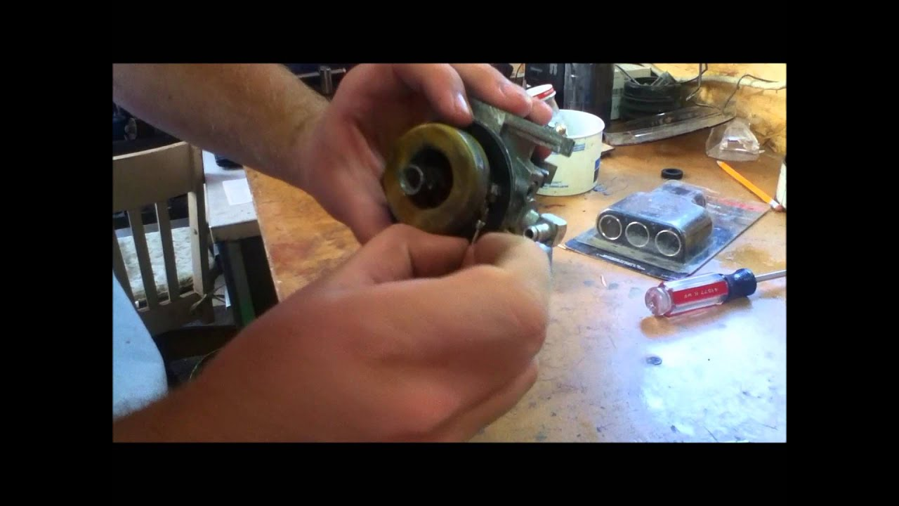 How To Rebuild A Kohler K Series Carburetor K161 K181 K241 Etc K91 Engine Schematics Youtube