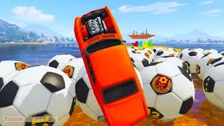 FUN LEARN COLOUR BIG WHEEL RACE CAR w  Siêu nhân cho trẻ em Hoạt hình   YouTube