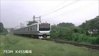 JR水戸線 2018/09/29