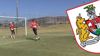 Bristol City's Training In South Africa