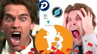 Crypto Over! Sorry Cryptocurrencies! TIME TO PANIC! (NOT CLICKBAIT)