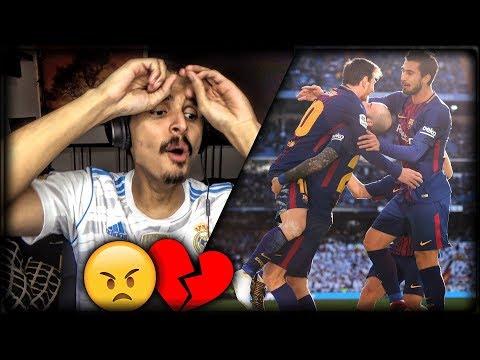 ردة فعل مدريدي على مباراة ريال مدريد ضد برشلونة 🔥