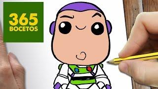COMO DIBUJAR BUZZ LIGHTYEAR KAWAII PASO A PASO - Dibujos kawaii faciles - draw Buzz lightyear