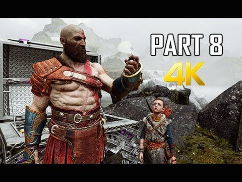 GOD OF WAR Gameplay Walkthrough Part 8 - Buried Treasure (PS4 PRO 4K Commentary 2018)