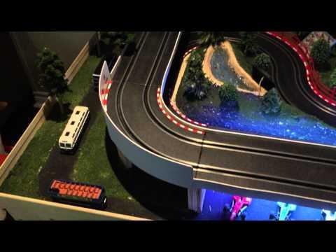 carrera go slot car racing village 4×8