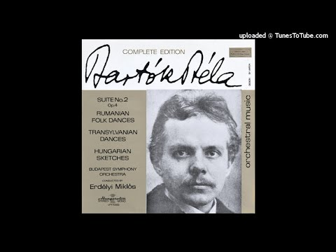 Béla Bartók : Hungarian Sketches for orchestra Sz. 97 (1931)