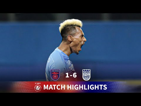 Highlights - Odisha FC 1-6 Mumbai City FC - Match 105 | Hero 2020-21