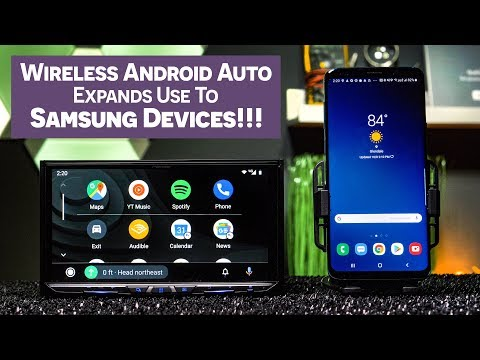 Wireless Android Auto Now Works With SAMSUNG Devices!!!!