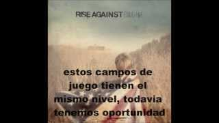 Rise Against Disparity by Design sub español