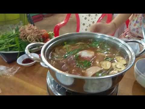 Вьетнамский суп Хот Пот - готовим на Фукуоке (кафе Ot Ngot)